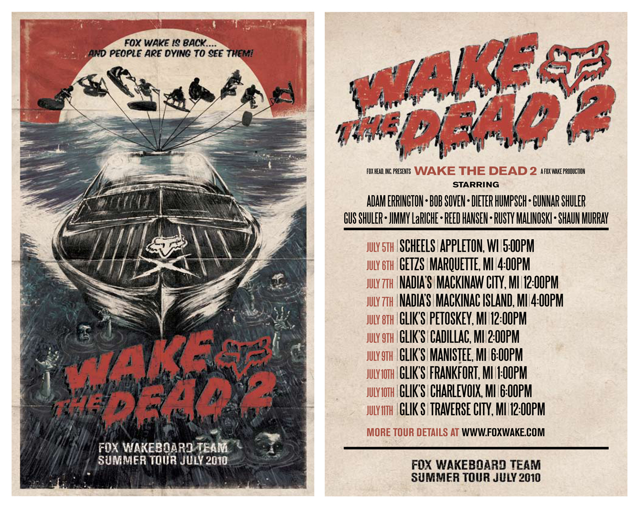 Wake the Dead Flyers