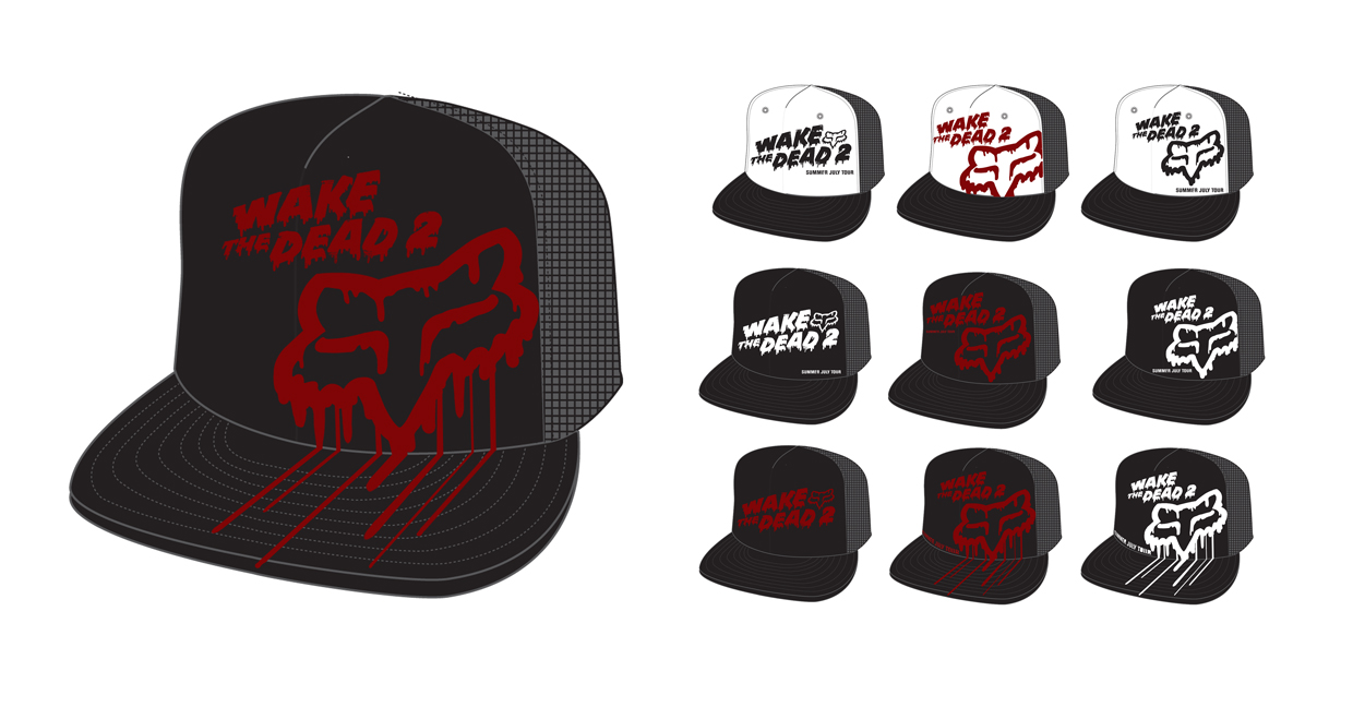 Wake the Dead Hat Designs