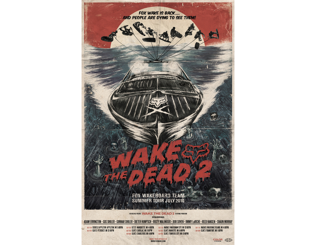 Fox Wake the Dead Poster
